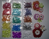 Dew Drops Rhinestone Embellishments 15 Colors to choose from. 100 Dew Drops per bag. I am sold out of the burgundy