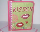 KIsses 3D All occasion greeting card wi/envelope