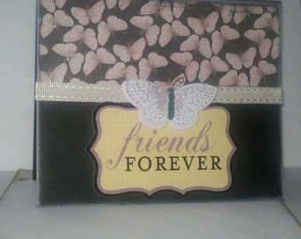 Friends Forever all occasion greeting card w/envelope.