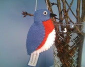 Bluebird of Happiness ornament