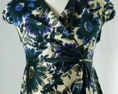 Maternity Wrap around Dress, Floral Print