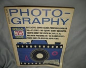Vintage Popular Photography August 1967 Issue