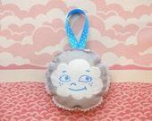 SALE - HALF OFF - Dotty Cloud Lavender Sachet