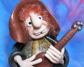 FingersHobbGobb OOAK SCULPT Ann Galvin musician HobGoblin Art Doll Coupon Code GOBLINRY