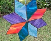 Large Stained Glass Star