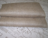 Burlap fabric 10oz weight  one yard minimum