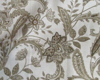BOTANICAL in Browns/ Linen/ fabric