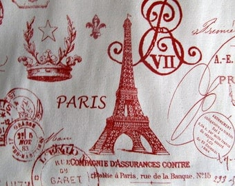 PARIS in French Red