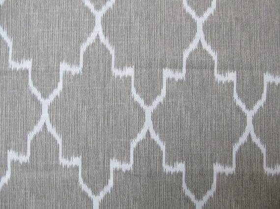 MONACO LINEN designer, decorator/drapery/bedding/upholstery ikat fabric