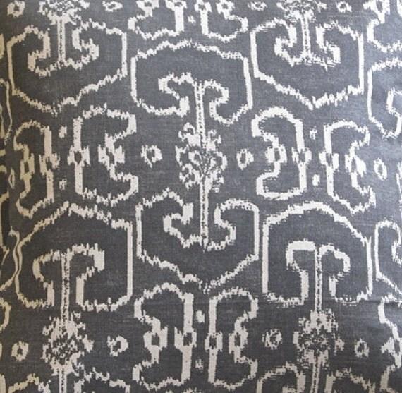 Ikat  BENGALI GRAY designer multipurpose fabric