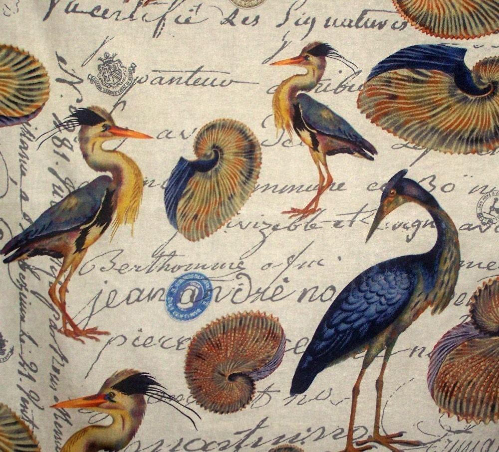 Screen Printing, Blue Heron, Printing On Fabric