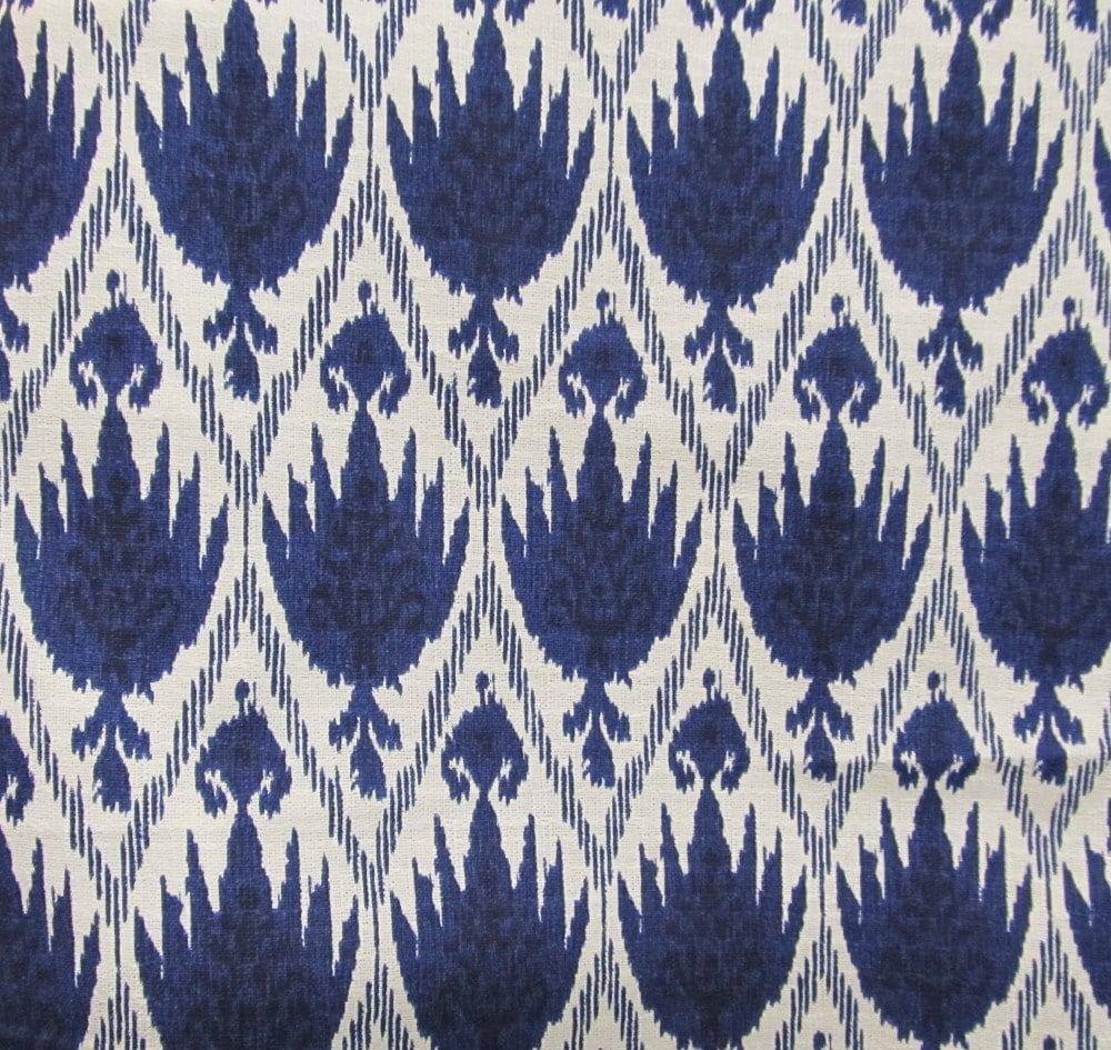 casablanca ikat blue white designer multipurpose ikat. Black Bedroom Furniture Sets. Home Design Ideas