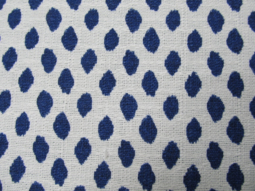sahara indigo blue white flax designer drapery bedding upholstery ikat fabric from. Black Bedroom Furniture Sets. Home Design Ideas