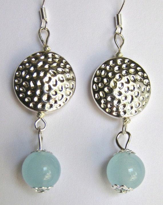 Aquamarine earring and pendant set online