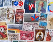 50 Oh Canada Vintage Out and About Worldwide Postage Stamps Philately Canadian Ottawa Aboringinal Innuit