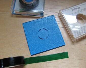 Vintage 1970s Chartpak Pressure Sensitive Graphic Tape Deco Tape Green Half Inch x 324 Inch