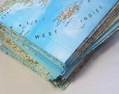 Atlas Map Envelopes Set of 12