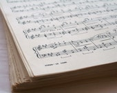Vintage Music Sheets 500 Count Custom Listing for Shopvintageeleven