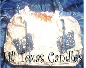 Free Shipping Texas Breeze Soy Wax Loaf Pan Candle