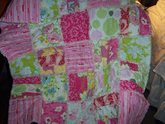 baby rag quilt instructions