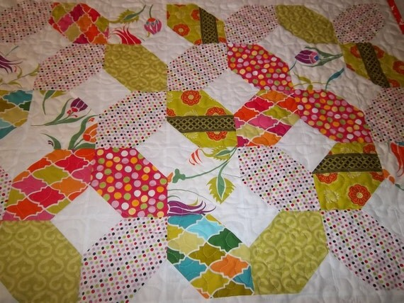 Xo Hugs And Kisses Quilt Pattern Tutorial Pdf From