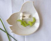 White Dove Dish - 7 inches