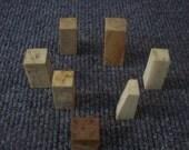 Vintage Bone Piece Assortment