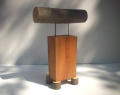 Wood Sculpture  /   Offer to the Fire