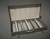 Vintage Metal Slide Box / 35mm Photography