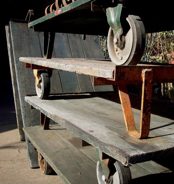 Vintage Colson Industrial Warehouse Carts By Urgestudio On