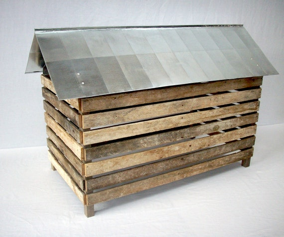 Barn Farm Rustic Primitive Country / Rural Outbuilding Architectural Model / No Way In - No Way Out Series / Number 2
