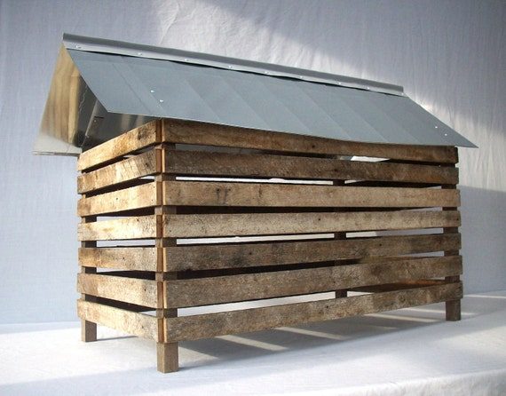 Primitive Rustic Farm Country Barn / Mixed Media Assemblage / Architecture Model / OOAK / No Way In - No Way Out Series / Number 3 / Farm