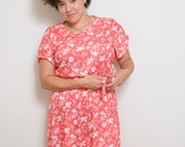Vintage Dainty Rose Dress