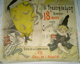 Emile Beaussier 1899 Bal de Etudiants