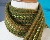 RESERVED FOR Whatsername Woven Crochet Scarf/OOAK
