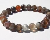 Bountiful Botswana Agate Zen Beaded Bracelet