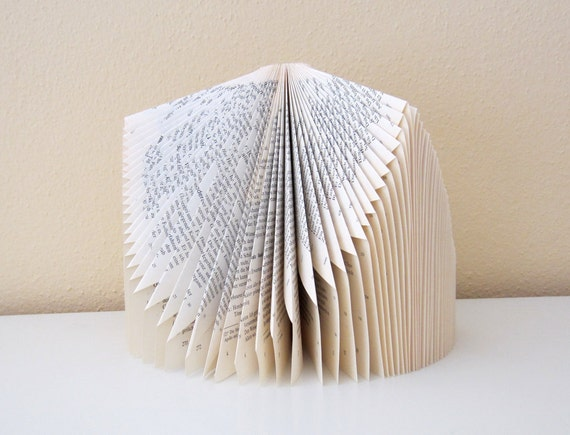 Book Sculpture - 3sided - altered Book
