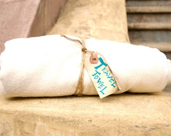 Eco friendly travel/beach/home towel