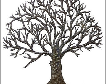 metal art tree metal art wall hanging metal wall art haitian metal art - Metal Tree Wall Decor