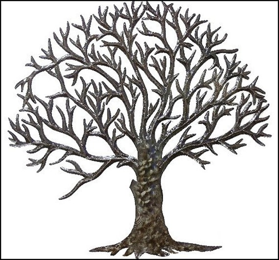 Metal Art Tree Wall Hanging