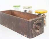 Old Sewing Machine Drawer Box Container for all types of stuff