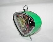 Atomic Age Green Clock
