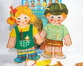 SALE - Dress Me Up Doll Paper Doll Game