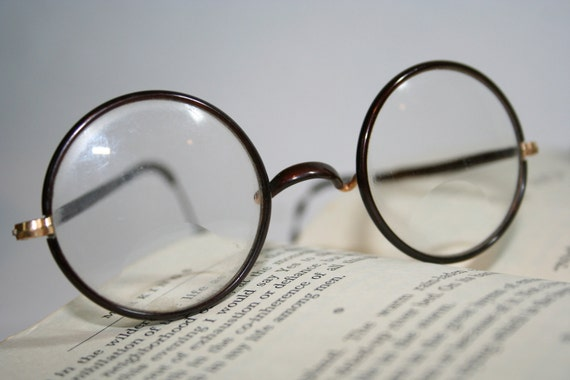 Harry Potter Round Eyeglasses with wrap around ear piece Circa
