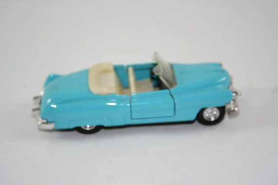 1955 Convertible Cadillac Toy Car Baby Blue