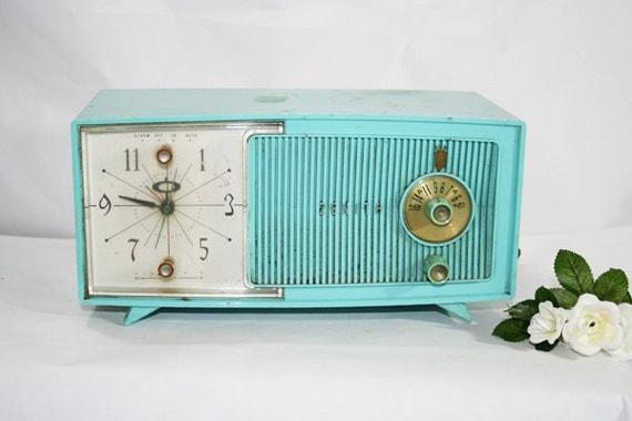 Zenith Digital Clock Radio Alarm 1970s Vintage Electronics |Zenith Clock Radio
