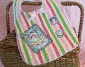 Baby Bib - Quilted Girl