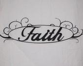 Wall Art - Oval Faith