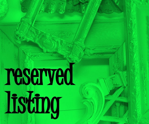 Reserved for CTCouTure