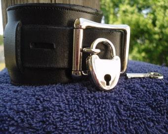 Polished padlock nickel or gold toned - Free US Shipping